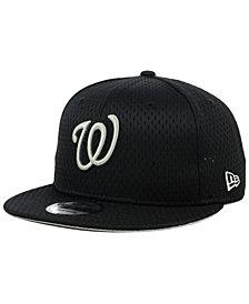 New Era Washington Nationals Batting Practice Mesh 9FIFTY Snapback Cap