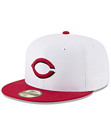 New Era Cincinnati Reds Batting Practice Wool Flip 59FIFTY FITTED Cap