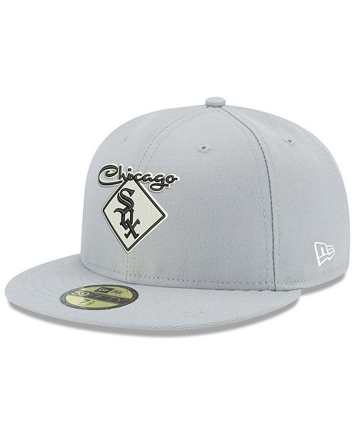 2456d37a201 New Era Chicago White Sox Retro Stock 59FIFTY FITTED Cap - Sports ...