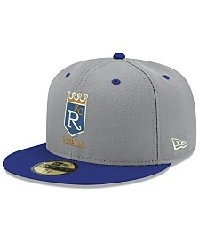 New Era Kansas City Royals Retro Stock 59FIFTY FITTED Cap