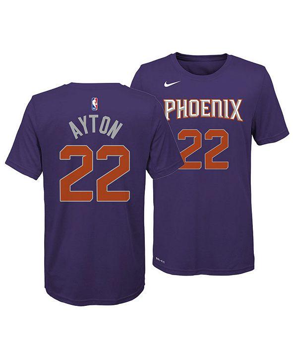 Nike Deandre Ayton Phoenix Suns Icon Name and Number T-Shirt, Big Boys (8-20)