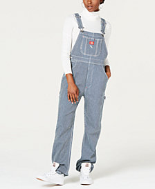Dickies Hickory Railoroad Stripe Overalls