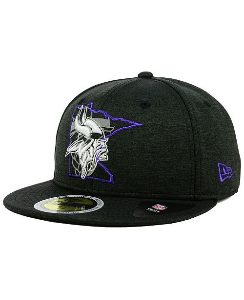 ace4a5986f4 ... New Era Minnesota Vikings State Flag Reflective 59FIFTY FITTED Cap ...