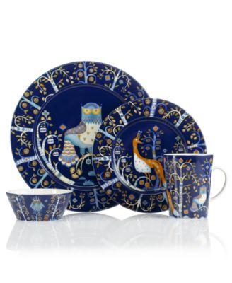 Iittala Dinnerware Taika Blue Collection  sc 1 st  Macyu0027s & Iittala Dinnerware Taika Blue Collection - Dinnerware - Dining ...