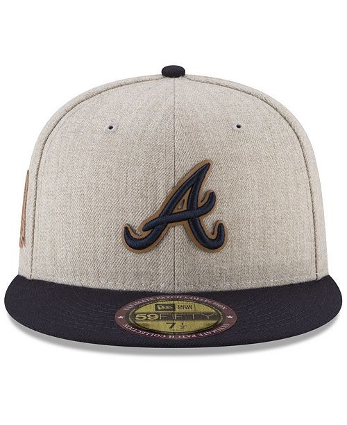1b73902a2ab New Era Atlanta Braves Leather Ultimate Patch Collection 59FIFTY ...