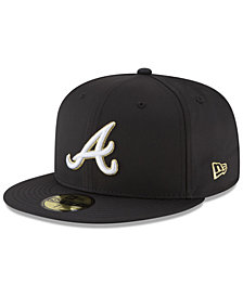 New Era Atlanta Braves Prolite Gold Out 59FIFTY FITTED Cap