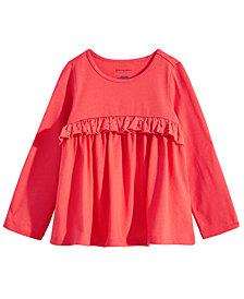 First Impressions Baby Girls Ruffled Cotton Tunic, Created for Macy's