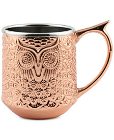 Thirstystone Copper-Plated Owl Mug