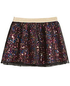 Epic Threads Little Girls Sequin Tulle Skirt, Created for Macy's