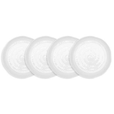 Pearl Melamine 4-Pc. Salad Plate Set