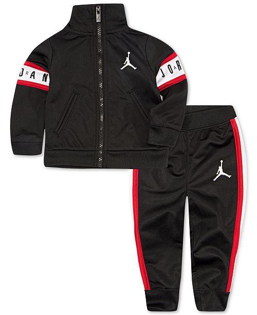 96227f755 Jordan Toddler Boys 2-Pc. Air Jordan Track Suit Set & Reviews - Sets ...