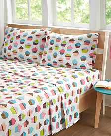 Mi Zone Printed 4-PC Queen Sheet Set