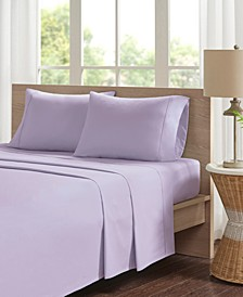 Peached Percale 4-PC King Cotton Sheet Set