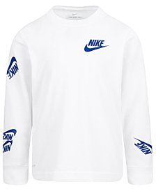 Nike Little Boys Dri-Fit Futura Stickers T-Shirt