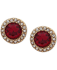 Ivanka Trump Pavé & Stone Stud Earrings