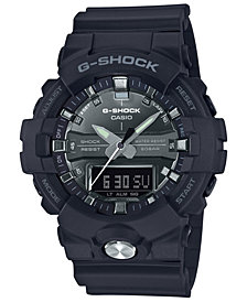 G-Shock Men's Analog-Digital Black Resin Strap Watch 54.1mm