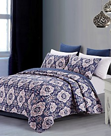 Leandra 3-Piece King Quilt Set