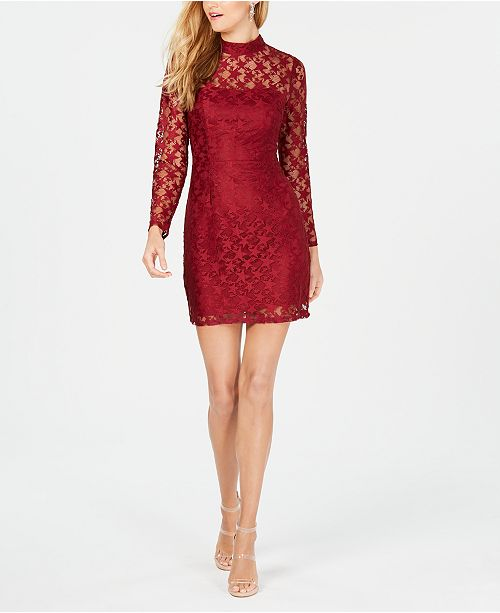 62d68dcfdb44 Betsey Johnson Star Lace Dress & Reviews - Dresses - Women - Macy's