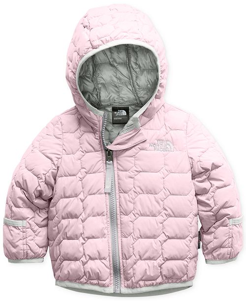 The North Face Baby Girls Infant ThermoBall trade  Hooded Jacket ... 5e82961eb