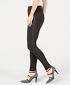 Alfani Tuxedo-Stripe Legging Pants, Created for Macy's