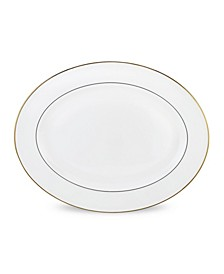 Continental Dining Gold Oval Platter