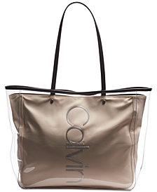 Calvin Klein Mallory Clear Tote