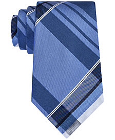 Kenneth Cole Reaction Men's Plaid Slim Tie