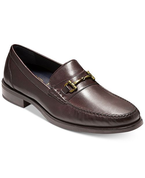 db6a94f60ec Cole Haan Men s Pinch Sanford Bit Leather Loafers   Reviews - All ...