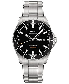 Men's Swiss Automatic Ocean Star Captain V Stainless Steel Bracelet Watch 42.5mm