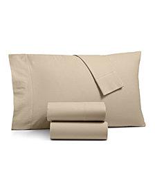 Linen Cotton Queen 4-pc Sheet Set