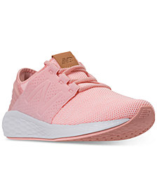 New Balance Girls' Fresh Foam Cruz V2 Running Sneakers from Finish Line
