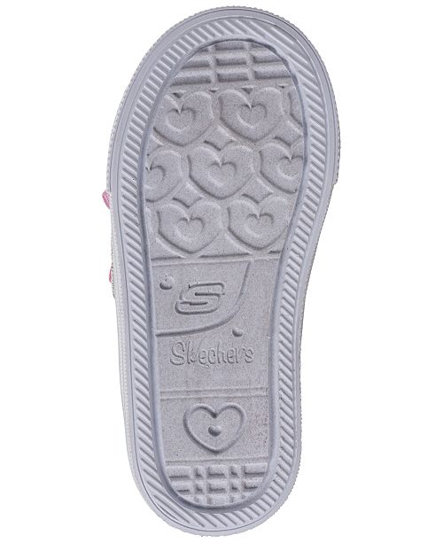 8d7e74d552877 Skechers Toddler Girls' Twinkle Toes: Shuffle Lite - Mini Mermaid Light-Up  Casual ...