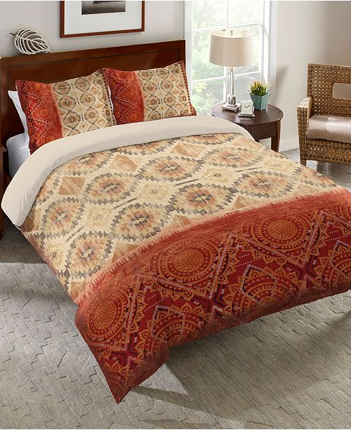 Laural Home Southwest Medallion Queen Comforter