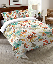 Laural Home Nature's Palette Queen Comforter