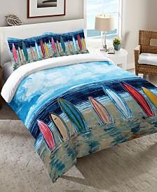 Laural Home Surfboards Queen Comforter
