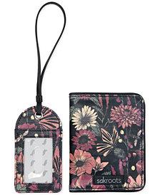 Sakroots Sadie Passport Case & Luggage Tag Set
