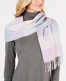 Charter Club Tartan Cashmere Scarf, Created for Macy's