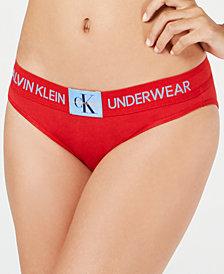 Calvin Klein Monogram Waist Bikini QF4921, First at Macy's