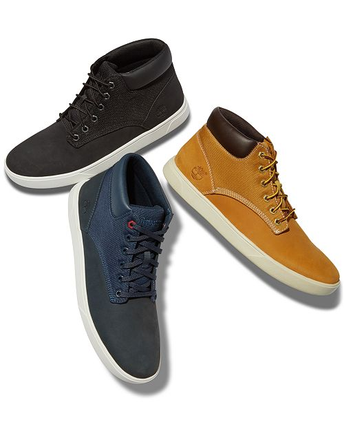 Timberland Men's Groveton High Top Sneakers, Created for Macy's
