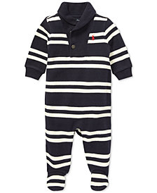 Polo Ralph Lauren Baby Boys Shawl-Collar Coverall