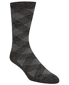 Cole Haan Men's Plaid Crew Socks