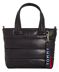 Tommy Hilfiger Ames Puffy Nylon Satchel