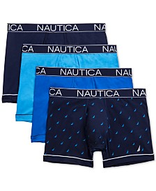Nautica Men's 4-Pk. Stretch Boxer Briefs