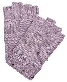 I.N.C. Shine Like the Night Fingerless Gloves, Created for Macy's