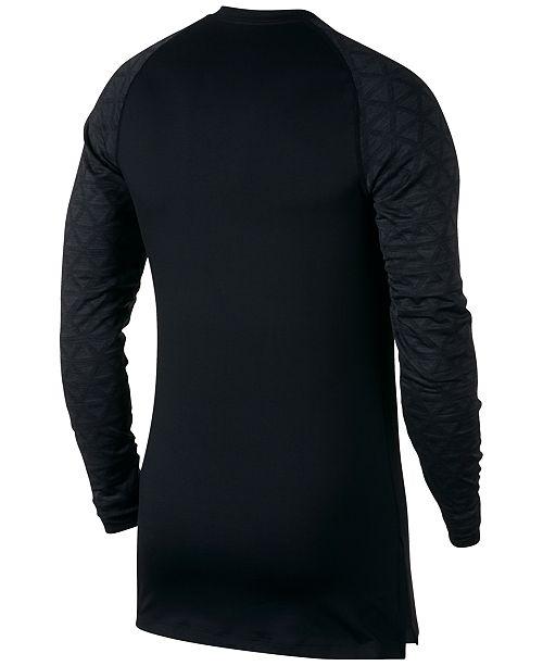 5a15be58 Nike Men's Pro Colorblocked Utility Shirt & Reviews - T-Shirts - Men ...