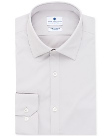 Ryan Seacrest Distinction™ Men's Ultimate Active Slim-Fit Non-Iron Performance Stretch Solid Dress Shirt, Created for Macy's