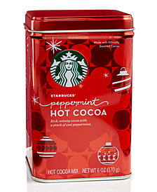 Starbucks Peppermint Cocoa Canister