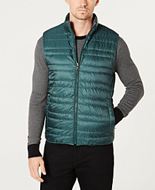 Michael Kors Men's Reversible Packable Vest