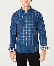 Michael Kors Men's Slim-Fit Check Shirt