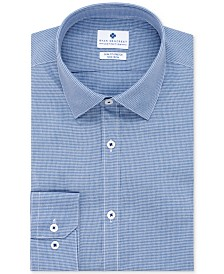 Ryan Seacrest Distinction™ Men's Ultimate Active Slim-Fit Non-Iron Performance Stretch Check Dress Shirt, Created for Macy's